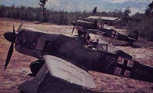 Fw 190As of JG 54 in Russia